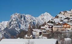 Valmeinier 1500 le lendemain d'une chute de neige