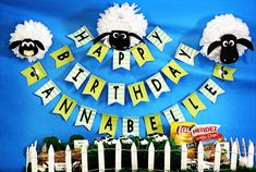 Ideas para cumpleaños Shaun the Sheep | Blog Celebrando Fiestas