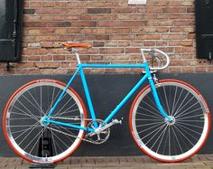 MOOSACH-BIKES-5  Blue/Orange color for my bicycle