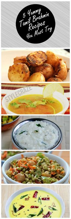 5 Yummy Tamil Brahmin Recipes You Must Try