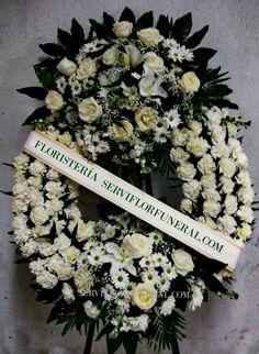Las 112 Mejores Imágenes De Coronas De Flores Funeral En
