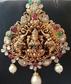 Antique Lakshmi pendant Designs