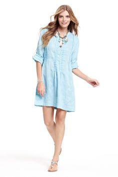 Regina Embroidered Shirt Dress