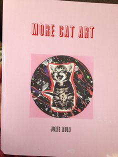 Another New Cat Art Book :) More Cat Art Book by TheEscapistArtist on Etsy