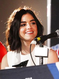 Lucy Hale at the Pretty Little Liars panel at 2015 New York Comic-Con - October 9, 2015