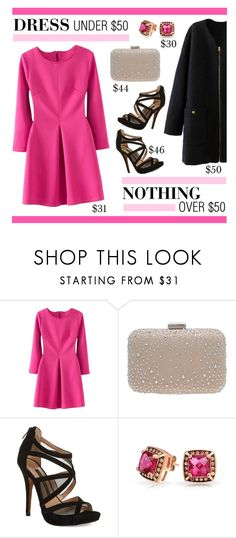 """Dress Under $50 (Nothing Over $50)"" by lgb321 ❤ liked on Polyvore featuring Miss KG, French Connection and Bling Jewelry"