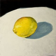 #stilllife of #lemon with strong light. rough style - oil on wood pannel 20 x 20cm - fresh new (for sale 100 shipping included DM for details)  #originalart #paintanyway #stillife #brushporn #figureativeart #fineart #sketchbook #doodle #oilpainting #instaart #instaartist #contemporaryart #traditional #realism #brushstrokes #artforsale  made in #toulouse with #love