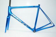 Ridley Helium SLX - Custom Chrome and Candy Blue