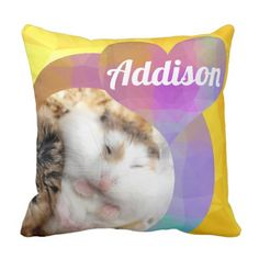 Shop HammyVille - Cute Hamster Heart Huggy Buggy Throw Pillow created by HammyVille. Roborovski Hamster, Hamster Names, Cute Hamsters, Diy Funny, Custom Pillows, Cool Gifts, Your Design, Personalized Gifts, Cute Animals