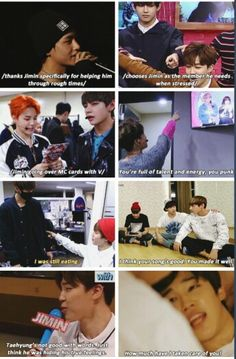 V: Jimin protects me ~ Will you protect me forever? I love the 95z friendship