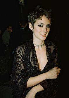 "i-alwayslikedstrangecharacters: "" Winona Ryder, Vanity Fair Post Oscar Party 1998. """