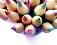 Coloured Pencils Photography Children Home Decor BOGO 10x8 print Colour Me.... $25.00, via Etsy.