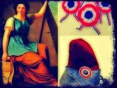 Los símbolos de la Revolución Francesa se nutrieron de dos fuentes principales para asociar a sus ideas fundamentales: la Antigüedad Clásica y la masonería.