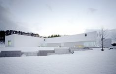 Aomori pref. Museum of Art in winter@建築について | 青森県立美術館