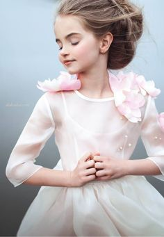 "ALALOSHA: VOGUE ENFANTS: NEW SEASON: Mischka Aoki Spring-Summer 2016 collection is inspired by the fairy tale ""Sleeping Beauty"""