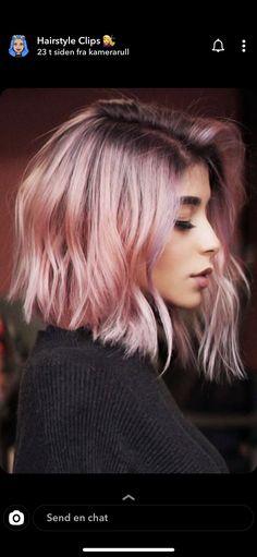 Pastel Pink Hair, Hair Color Pink, Hair Dye Colors, Cool Hair Color, Pink Short Hair, Rose Pink Hair, Dyed Hair Pink, Short Colorful Hair, Colored Short Hair