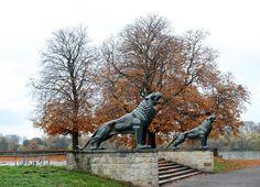 Novemberwetter an der Löwenbastion von Peter Vollmert