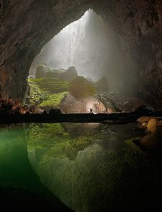 A cave in Vietnam in National Geographic