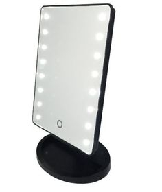 This adorable mini vanity mirror features a touch screen, dimmable LED lights, and a removable magnified mirror. Compact, easy to travel with, and fits perfect on your bathroom counter or vanity. Makeup Storage, Makeup Organization, Skin Makeup, Beauty Makeup, Makeup Tips, Makeup Products, Beauty Vanity, Makeup Brushes, Hair Beauty