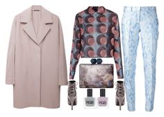 """""""Hot Trend: Cocoon Coats"""" by ecem1 ❤ liked on Polyvore featuring Coast, Charlotte Russe, Marco de Vincenzo, Maison Margiela, Michael Kors and RGB"""
