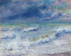 "Pierre-Auguste Renoir (1841-1919), ""Seascape"" - The Art Institute of Chicago ~ Chicago, Illinois, USA"