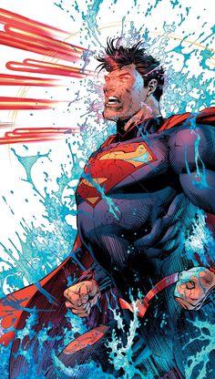 Superman Unchained by Snyder/Lee Superman Family, Superman Man Of Steel, Batman Vs Superman, Bad Comics, Dc Comics Art, Marvel Comics, Justice League Animated Movies, Steel Dc Comics, Pokemon Cosplay
