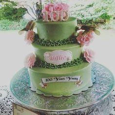 Hummingbird cake for 100 year birthday.