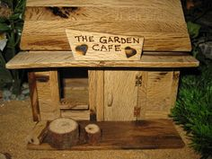 Fairy Garden Cafe by PixiesPatch on Etsy