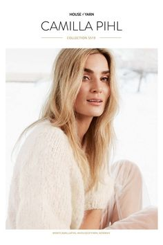 Magasiner – Camilla Pihl Strikk Dere, Camilla, Norway, Long Hair Styles, Knitting, Inspiration, Beauty, Collection, Scale Model