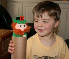 St. Patrick's Day -- Hiding leprechaun game for kids