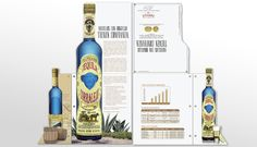 Urban Geko designing for Tequila Corralejo was like blending an intense, tantalizing margarita of lime juice, salted rims, sweet agave nectar, and smooth tequila. We've had the pleasure of working with Infinium Spirits on their branding, character and sales material.