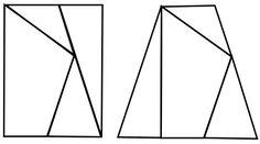 Pentagon to Quadrilateral Puzzle
