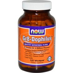 Now Foods, Gr8-Dophilus, 120 Vcaps