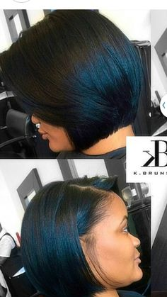 Bob Haircuts, Short Bob Hairstyles, Pretty Hairstyles, Wig Hairstyles, Curly Hair Styles, Natural Hair Styles, Bob Cuts, Cut Life, Edgy Hair
