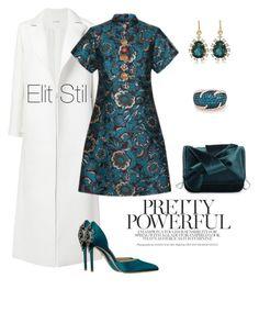 """For women only"" by elitstil on Polyvore featuring Oscar de la Renta, Badgley Mischka, Irene Neuwirth, Effy Jewelry and Dolce&Gabbana"