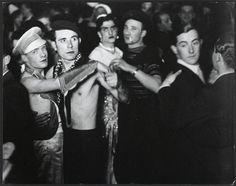 The crowd at a gay club in Berlin in the 1930's.