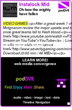 #VIDEO #PODCAST  Instalock Mid    Oh how the mighty have fallen    LISTEN...  http://podDVR.COM/?c=7f8963c0-fb85-e0c4-50ee-a041f53c9723