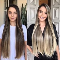 Here's Every Last Bit of Balayage Blonde Hair Color Inspiration You Need. balayage is a freehand painting technique, usually focusing on the top layer of hair, resulting in a more natural and dimensional approach to highlighting. Hair Color Balayage, Blonde Balayage, Hair Highlights, Bayalage, Brown Balayage, Cabelo Ombre Hair, Brown Blonde Hair, Hair Painting, Hair Transformation