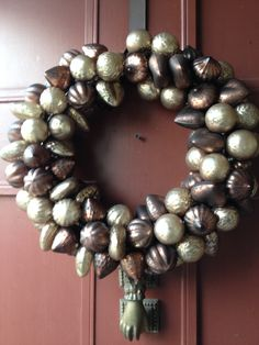 OK not vintage but great wreath for my door.