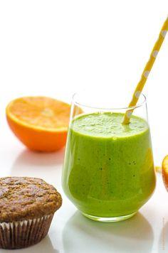 zelené smoothie Smoothies, Ethnic Recipes, Food, Essen, Smoothie, Yemek, Smoothie Packs, Fruit Shakes, Meals