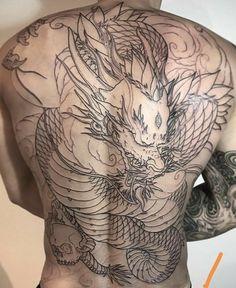 Dragon Tattoo Colour, Koi Dragon Tattoo, Dragon Sleeve Tattoos, Color Tattoo, Japanese Tattoo Artist, Japanese Tattoo Symbols, Japanese Tattoo Designs, Face Painting Tutorials, Face Painting Designs