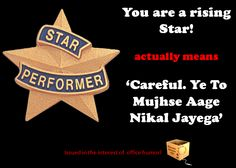You are a rising star !