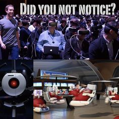 An awesome Virtual Reality pic! We have no reason to be worried.  #Facebook  #oculus #virtual #reality  #vr #virtualreality #rift #oculusrift #conference #tech by zettt check us out: http://bit.ly/1KyLetq