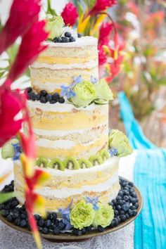 Naked wedding cakes « Weddingbee Boards