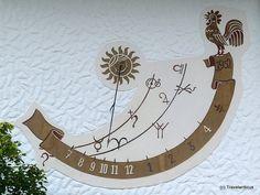 Sundial in Mittelberg, Austria   By Travelwriticus | July 13, 2013 | Sundials