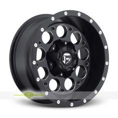 Fuel Revolver Finish: Black Milled  More info: http://www.wheelhero.com/customwheels/Fuel/Revolver-Black-Milled