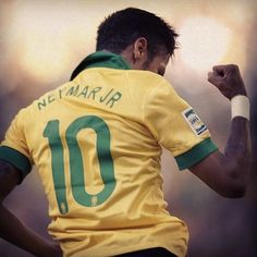 Neymar is playing awesome in the confederation cup! Neymar Jr, Soccer World, Ex Husbands, Best Player, Fifa World Cup, Fc Barcelona, Football Players, Superstar, Brazil