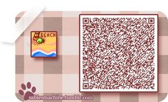 re: The QR Code Database - Page 14 - Animal Crossing: New Leaf Forum (AC: New Leaf) - Neoseeker Forums -> Desert Design Tile Animal Games, My Animal, Animal Crossing Qr Codes, Acnl Paths, Flag Code, Motif Acnl, Ac New Leaf, Happy Home Designer, Motifs Animal