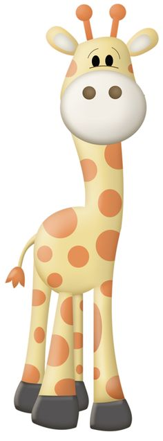 Cute Baby Giraffe Cartoon Here Here Is A Baby Giraffe