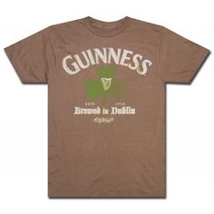 Guinness Centuried Comfort T Shirt. Officially licensed from Guinness!